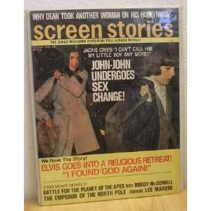 Screen Stories Magazine August 1973: No author noted