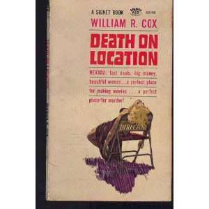 Death on location William Robert Cox Books