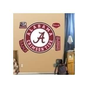 Alabama Crimson Tide Logo Fat Head: Sports & Outdoors