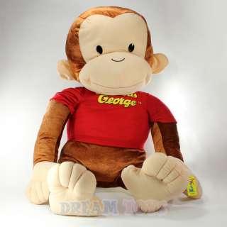 Curious George Giant Extra Large 45 Plush Doll   Jumbo Monkey Stuffed