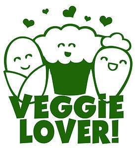 Vegetarian Vegan Healthy Peta Cute Kawaii Japan T shirt Size Choice
