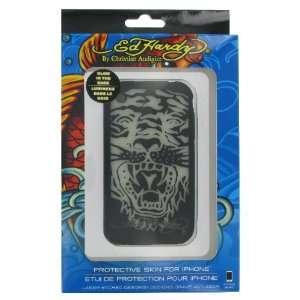 Black Glow in the Dark Tiger Design (Licensed by Ed Hardy