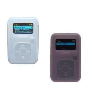 Sandisk Sansa Clip Plus (2GB ,4GB , 8GB) Pink Silicone Skin Case Cover