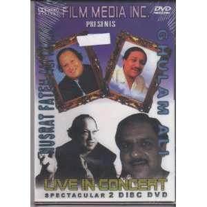 Nusrat Fateh Ali Khan ghulam Ali Live in Concert(2 Disc
