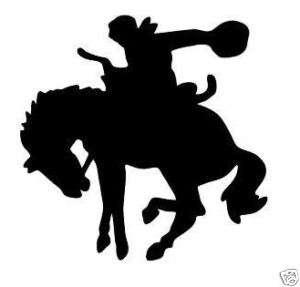 RODEO COWBOY HORSE logo decal sticker car truck window