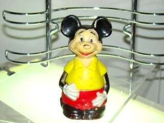 RARE Mickey Mouse Figurine MARX Toys Hong Kong Walt Disney Productions
