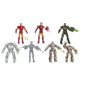 Iron Man 6 Figure Wave 2 Case Of 10 Toys & Games