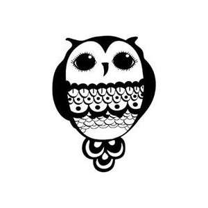 Unity Stamp Itty Bitty Unmounted Rubber Stamp bright Eyes