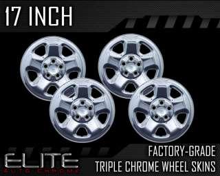 2006 2011 Honda Ridgeline 17 Chrome Wheel Skin Covers