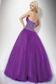 satin Bridal Embroidery Wedding Gown Prom Ball Evening Dress