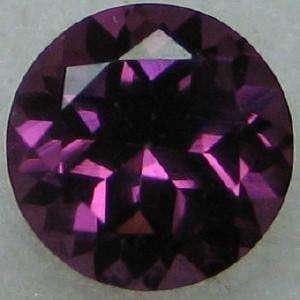 Round 5mm Natural Purple Pink Red RHODOLITE GARNET