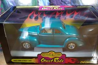 1940 Ford Street Rod 1/18 scale by Ertl Mint in Box