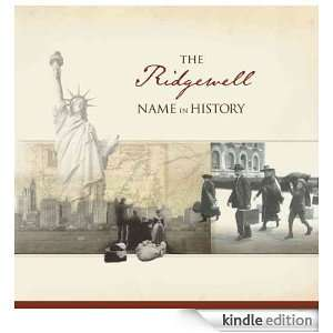 The Ridgewell Name in History: Ancestry  Kindle Store