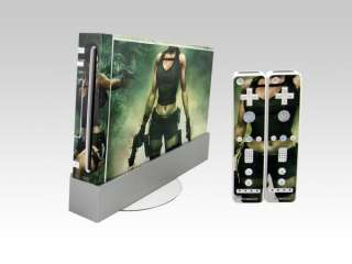 White VINYL decal Sticker SKIN cover for Nintendo Wii Console & Remote