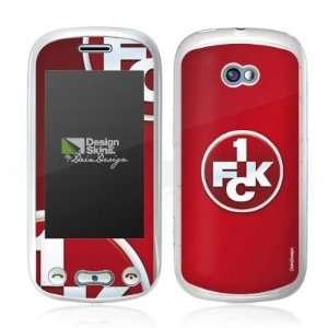 Design Skins for LG GT350 Town   1. FCK Logo Design Folie