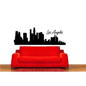 Los Angeles Skyline Vinyl Wall Decal Sticker Graphic By