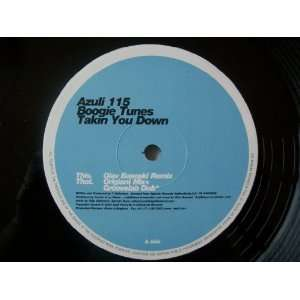 BOOGIE TUNES Takin You Down UK 12 2000 Boogie Tunes
