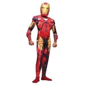 Iron Man Childs 2pc Fancy Dress Costume M 116cm Toys