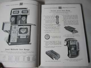 Jewel Stove Catalog LOADED 368 p. Hardcover   cast iron ranges