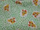 VINTAGE RAINBOW BRITE BABY CRIB SHEET NURSERY 1983 HALLMARK DUNDEE