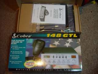 COBRA 148GTL, AM/SSB CB RADIO, TECH TUNED W/HIGH RECEIVE, LOUD