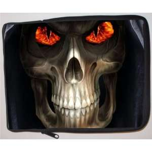 Fire Grim Reaper Design Laptop Sleeve   Note Book sleeve