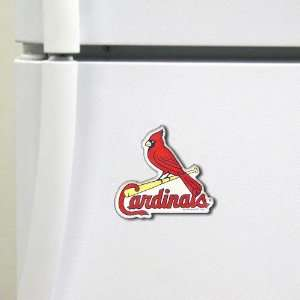 MLB St. Louis Cardinals 3 x 2.5 High Definition Magnet
