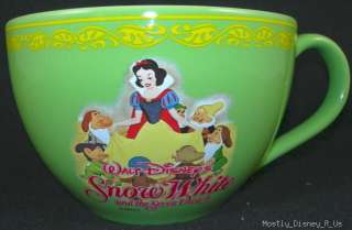 NEW  Snow White 7 Dwarves Mug Cup Bowl