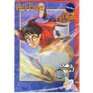 Harry Potter Quidditch Birthday Card with Quidditch Keyring Imported