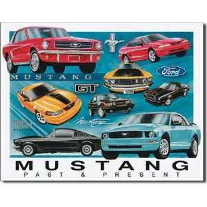 Ford Mustang Past and Present Chronology Evolution History