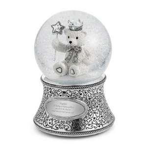 Personalized Teddy Bear Snow Globe Gift