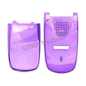 Purple Chrome Faceplate w/ Battery Cover for Sanyo VI 2300