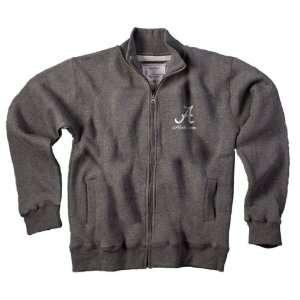 Alabama Crimson Tide Bama Womens Gray Track Jacket
