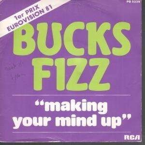 YOUR MIND UP 7 INCH (7 VINYL 45) FRENCH RCA 1981: BUCKS FIZZ: Music