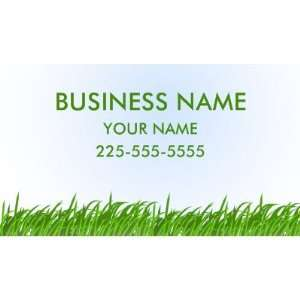 Lawn Care Business Card Templates: Office Products