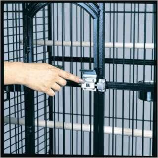 Blue Ribbon Pet Avian Premier 60 Play Top Bird Cage Gun Metal Gray
