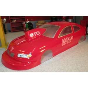 WRP   Gto Prostock Styrene Slot Car Body (Slot Cars) Toys