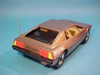 LOTUS ESPRIT CAR JAMES BOND FOR YOUR EYES ONLY RARE