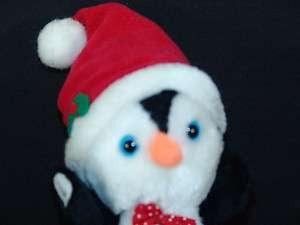 VINTAGE RUSS PLUSH CHRISTMAS SANTA HAT PENGUIN POKEY