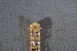 GOLD SILVER RUBY SAPPHIRE EMERALD FANCY TENNIS BRACELET