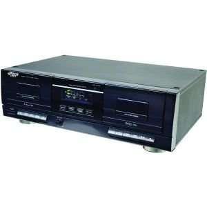 PYLE PRO PT659DU DUAL CASSETTE DECK WITH MP3 CONVERSION Electronics