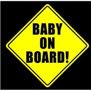 Baby on board sticker decal car Automotive