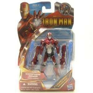 Inch Action Figure #04 Iron Man Exosphere Armor Toys & Games