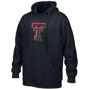 Nike Texas Tech Red Raiders Black Flea Flicker Hoody