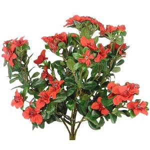Azalea Bush Artificial Flower   Red F84  Home & Kitchen