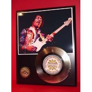 Gold Record Outlet Jimi Hendrix 24kt Gold Record Display
