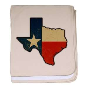 Baby Blanket Petal Pink Texas Flag Texas Shaped: Everything Else