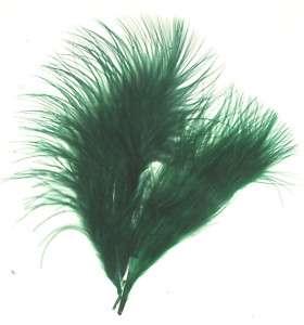 Feathers HUNTER GREEN Marabou 3 8 7 gr Aprx 35