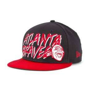 Atlanta Braves New Era MLB Funky Snapback Cap Hat