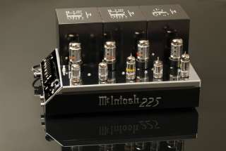 McIntosh MC 225 Vintage Hi Fidelity Stereo Tube Amplifier MC225 Amp